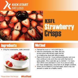 strawberry crisps