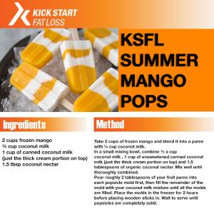 summer mango pops