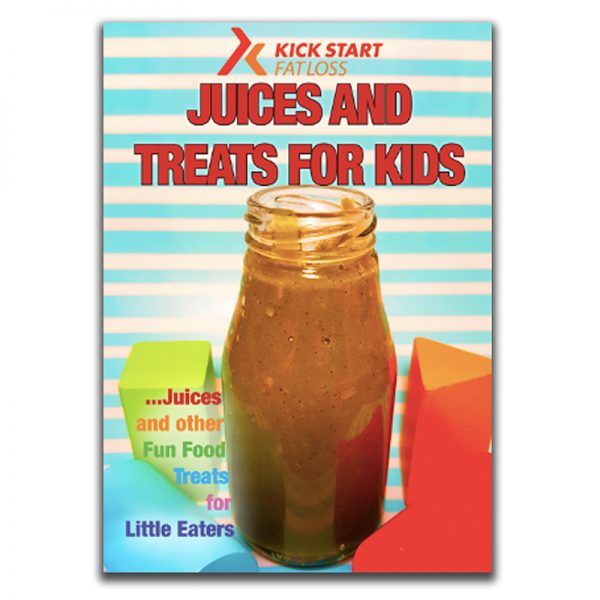 Healthy recipe book for kids
