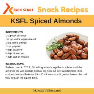 healthy snack ideas ksfl kick start fat loss