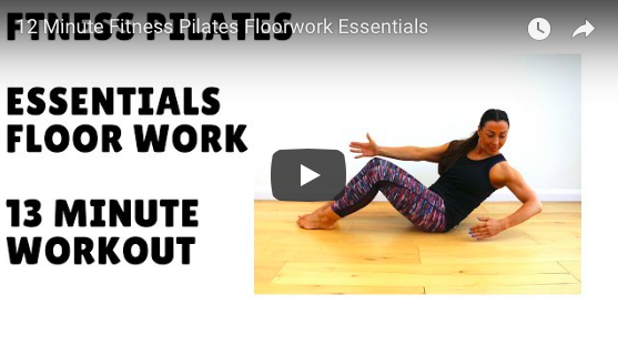 FITNESS PILATES FLOOR WORKOUT
