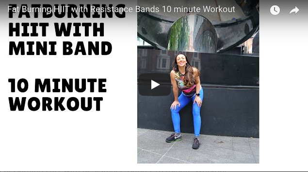 HIIT MINI BAND WORKOUT