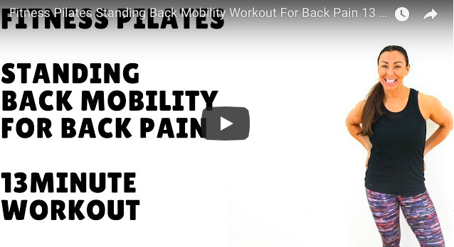 MOBILITY FOR BACK PAIN WORKOUT