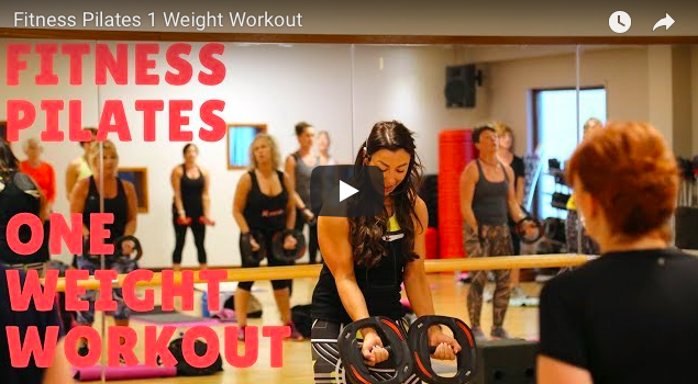 FITNESS PILATES WITH WEIGHTS