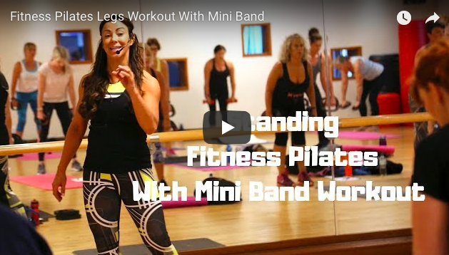 FITNESS PILATES WORKOUT