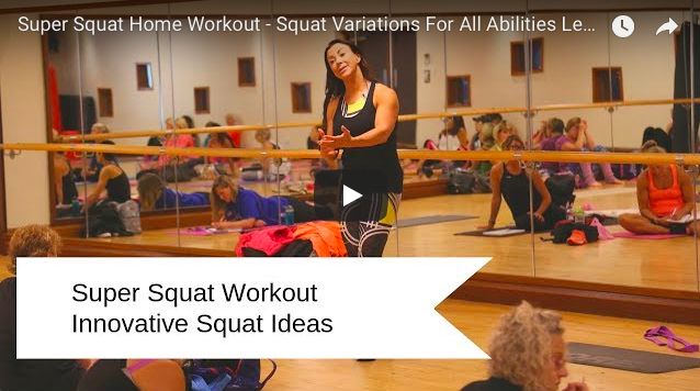 Super Squat Home Workout - Squat Variations For All Abilities Leg Workout