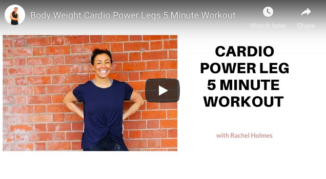 cardio power leg workout