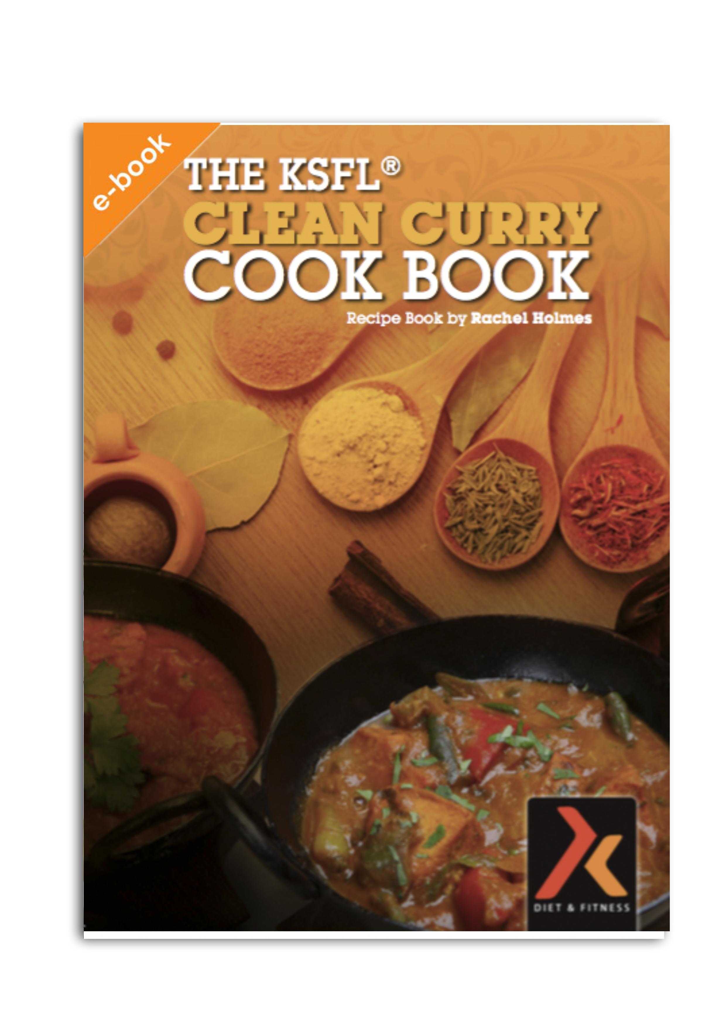 curry cook book e book 3d