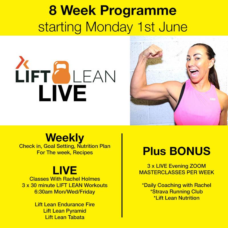 lift lean live graphic