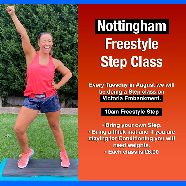 nottingham freestyle step