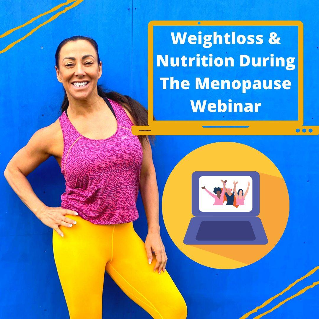 weight loss and menopause webiinar