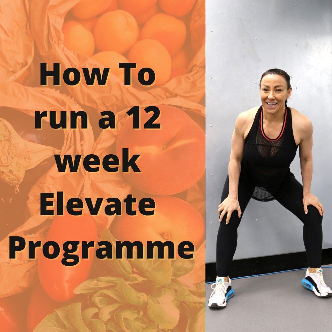 12 week elevate